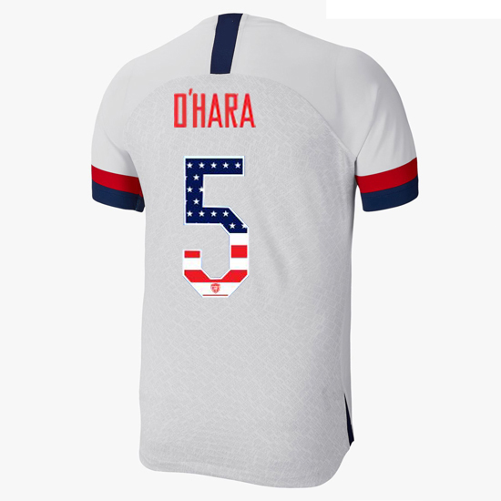 2019/20 USA Home Kelley O'hara Men's Jersey Independence Day