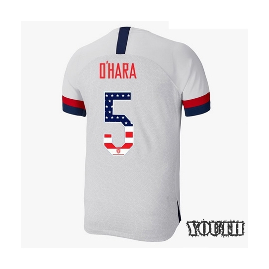 2019/20 USA Home Kelley O'hara Youth Jersey Independence Day