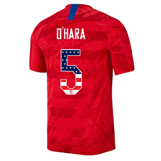 2019/20 USA Away Kelley O'hara Men's Jersey Independence Day