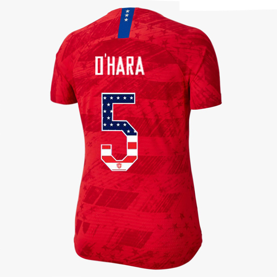 2019/20 USA Away Kelley O'hara Women's Jersey Independence Day