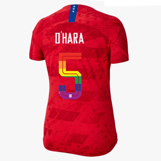 2019/20 USA Red Kelley O'hara Women's Jersey PRIDE