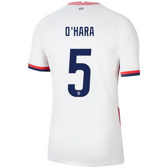 2020/21 USA Home Kelley O'hara Men's Soccer Jersey