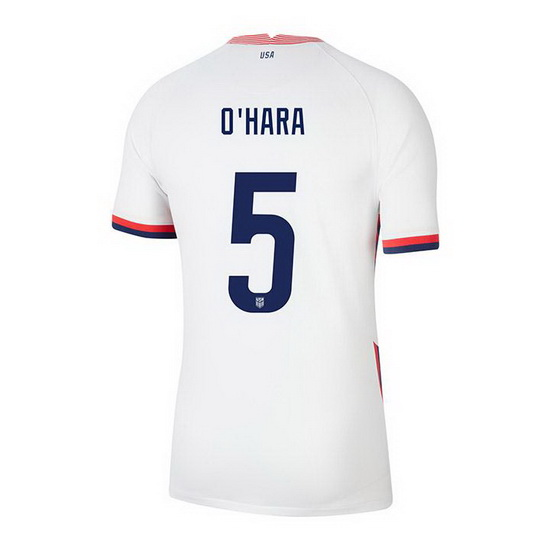 2020/21 USA Home Kelley O'hara Youth Soccer Jersey