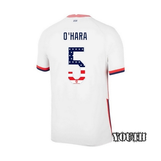 2020/21 USA Home Kelley O'hara Youth Jersey Independence Day