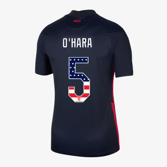 2020/21 USA Away Kelley O'hara Women's Jersey Independence Day