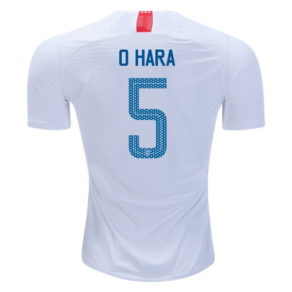 2018/19 USA Home Kelley O'hara Men's Authentic Soccer Jersey (#5)
