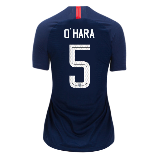 2018/19 USA Away Kelley O'hara Women's 3-Star Soccer Jersey (#5)