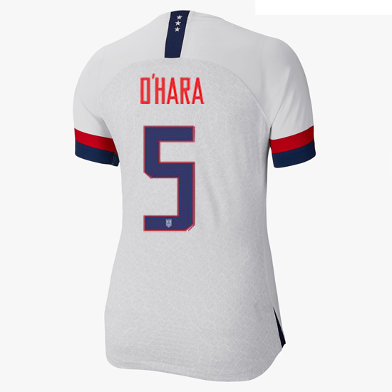 2019/20 USA Home Kelley O'hara Women's 3-Star Soccer Jersey (#5)