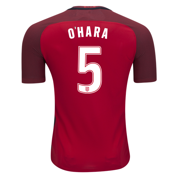 2017/18 USA Third Kelley O'hara Men's Authentic Soccer Jersey (#5)