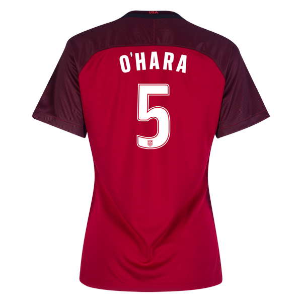 2017/18 USA Third Kelley O'hara Women's 3-Star Soccer Jersey (#5)