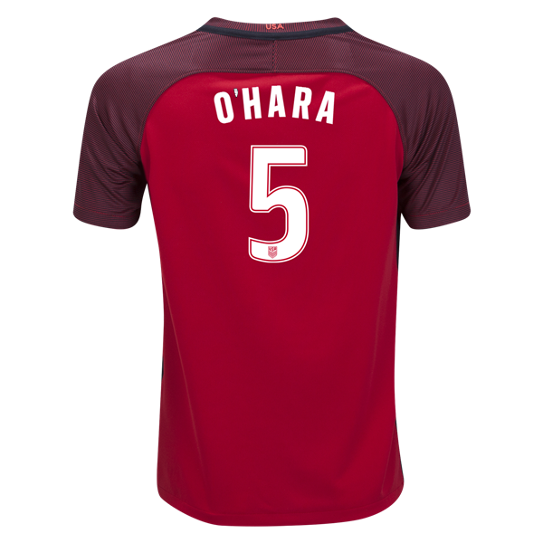 2017/18 USA Third Kelley O'hara Youth Soccer Jersey (#5)